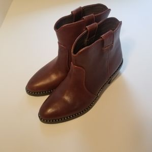 Jeffrey Campbell Brown Cowboy Boots